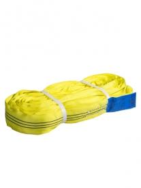 Kruhová slučka 3T-Dvojvrstvová, Nekonečná slučka, Žltá, Certifikovaná