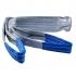 Zdvíhací popruh 4000 kg, Dvojvrstvový, Zdvíhací pás oko-oko, Šedý, Certifikovaný, typ B2.