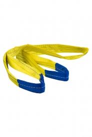 Zdvíhací popruh 3000 kg, Dvojvrstvový, Zdvíhací pás oko-oko, Žltý, Certifikovaný, typ B2