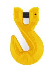 Skracovací hák reťazový s čapom (skracovač reťazový) je vyrobený v pevnostnej triede 8.