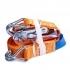 Gurtna 1T - Upínací pás s račňou dvojdielny s hrotovými hákmi