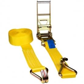 Gurtna 10T - Upínací pás s račňou dvojdielny s hrotovými hákmi