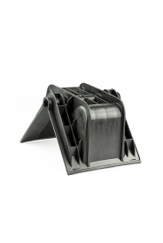 Ochranný plastový roh profilový, zosilnený sa vyznačuje pevnosťou a robustnosťou. Vhodný pre upínacie pásy ( gurtne ), zdvíhacie pásy oko-oko do šírky max. 70 mm.
