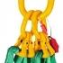 Štvor záves textilný, oko-4 hák,Nosnosť 4200/3000 kg, Certifikovaný