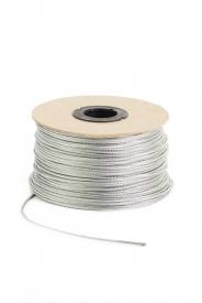 Oceľové lano pozinkované na cievke 6x7+FC,B, DIN 3055 je šesťpramenné oceľové lano