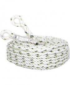 Polyamidové stočené lano zakončené slučkami s očnicou v dĺžkach 10 m a 20 m. Premier 10 metrového lana je 14 mm. Priemer 20 metrového lana je 16 mm.