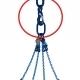 Prechodový záves pre veľké žeriavové háky je vyrobený v pevnostnej triede 10.