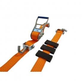 Upínací popruh 3 bodový na zajištění přepravovaných aut, délka 3 m, Oranžová