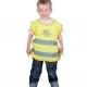 Detská reflexná vesta ALEX žltá