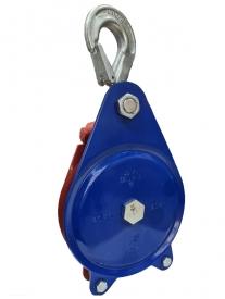 Lesnícka kladka SLR-K, odklápací plech (ťažná)
