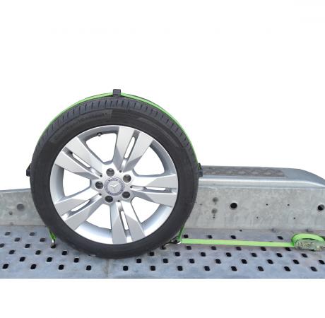 Gurtne na odťahovku 3 bodové, 3 tony vyrobený podľa EN 12195-2 na zaistenie prepravovaných áut.