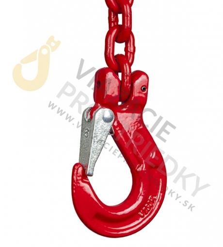 Dvoj záves reťazový, oko-2 hák, skracovač, Nosnosť 1600/1120 kg, G8-6, Certifikát